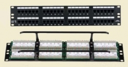 Allen Tel AT55B-PNL-12 Category 5E Patch Panel, 12 Ports