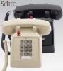 Scitec 25012 2510D-MW Single-Line Desk Phone-Black