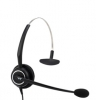 Monaural noise canceling headset with GN Netcom QD