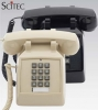 Scitec 25002 2510D Single-Line Desk Phone-Black