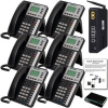 XBlue Networks X25 System Bundle with 6 X3030 VoIP Telephones