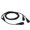 GN NETCOM 1003935:   Quick Disconnect Y-Training Cable (Black)